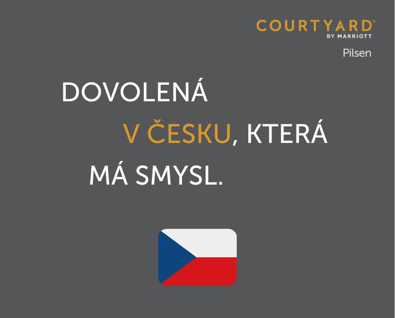 Dovolená v Česku, která má smysl -- s Courtyard by Marriott Pilsen.